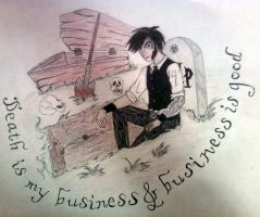 Death is my Business by LaurenWiles