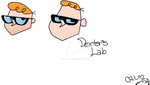 Dexter's Lab - Paint plus Medion Design Pad by COURTishLamb92