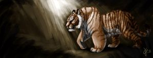 Speed paint Tiger by Tigerty