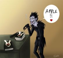 ryuk loves twilight by mariposa-nocturna