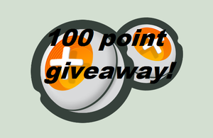 100 Point Giveaway! CLOSED! by Sassygirl1001