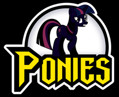 PONIES logo - Alt Media Ver. by Shishioh