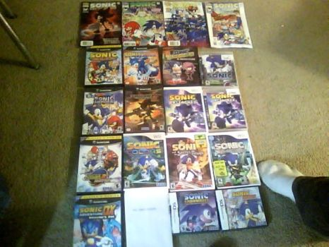 My Sonic Collection by Res6