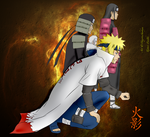 Hokage--Fire Shadows by PeachBerryDivision
