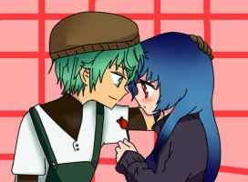 Amour Sucre : jade and watash by anime1448