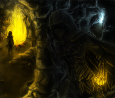 Bandits' Lair by DeathTheBunny