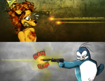 The Penguin King by guimero64