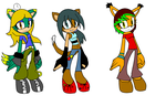 Sonic adopts #5 by triplet99c