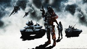 BF3 Spetsnaz BC2 Style Wallpaper by Keno999