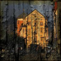 Architecture on Burnt Wood 1 by AngelEowyn