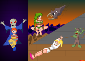 Terraria NPCs Captured by SuperTailsHero
