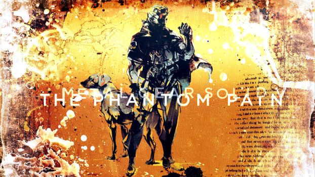 Metal Gear Solid V: The Phantom Pain Wallpaper by KaiPrincess