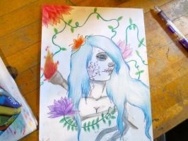 Day of the dead: WIP by Tanahachi