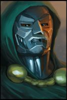Dr. Doom by CBSorgeArtworks