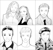 Portraits of Alcon 2013 by CRINS