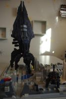 LEGO mass effect REAPER by TomXaros