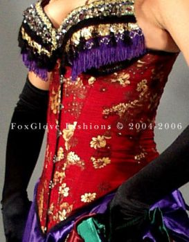 Moulin Rouge Corset by FoxGloveFashions
