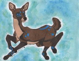 Pretty little deer by JamJams