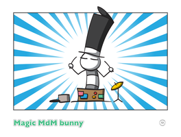 Magic MdM bunny by MdMbunny