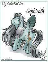 Sephiroth My Little Bad Ass by Amelie-ami-chan
