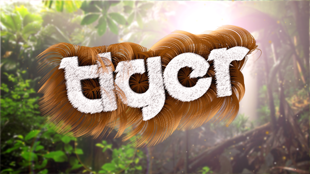 'TIGER LOGO' Cinema 4D + After Effects by UniblueMedia