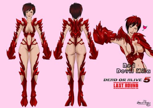 Red Devil Mila by Pesonico