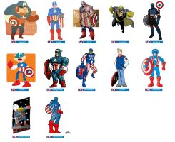 OCL - Captain America by striffle