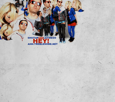 Layout: The Ting Tings by jonathanjacob