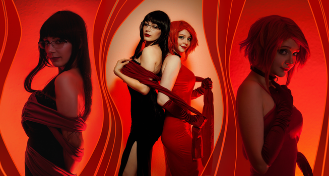 Sunstone Cover cosplay by Linamohl