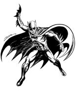 THE BATMAN by LURURINU