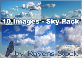 Sky Pack - 10 Images by Ravens-Stock