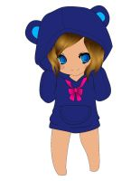 CHIBI IN A HOODIE by Wannapiece25