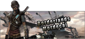 Borderlands Mordecai by InstinctGraphics