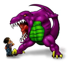 Barney in anger 2.0 by thecarlosmal