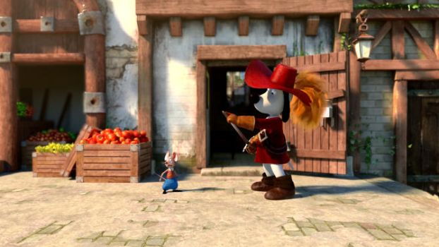 New Dogtanian Movie screen shot by EGGMAN-X
