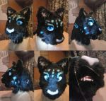 Raleigh Panther Fursuit Head by FenrisMau