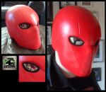 Red Hood Helmet by 4thWallDesign