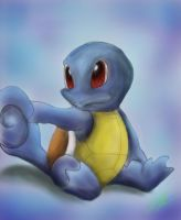 Little Squirtle by LePoubelle