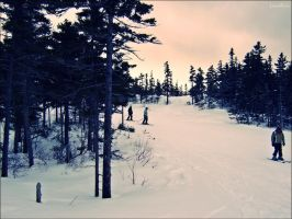 Sunday River skiing by liamRrrr