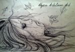 Sleep in peace Pen drawing/From my sketchbook by AlyssaArtsLover
