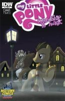 Cool Doctor Whooves Comic Cover by MictheMic1fan