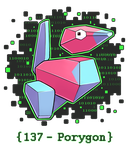 137 - Porygon by Electrical-Socket