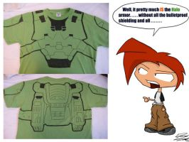 Halo Shirt by Toughset