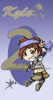 Rune Factory- Kyle Chibi by Chibidoodles