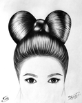 Hair Bow by GeorgeXVII