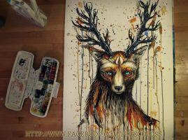 God of the forest by PixieCold