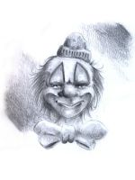Clown Grafite by rodolfocarvalho