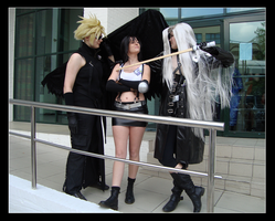 Final Fantasy VII cosplay by loezzy