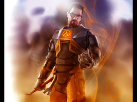 Gordon Freeman by RedDevil00