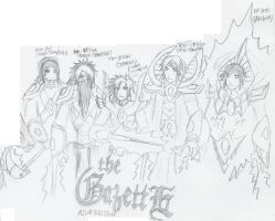 the GazettE - Aiur version by Fingertier